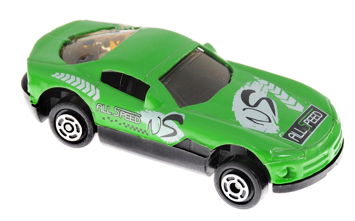 Big Motors Машинка цвет зеленыйJP632_зеленыйМашинка Big Motors станет любимой игрушкой вашего малыша. Игрушка представляет собой спортивную машину. Колеса имеют свободный ход. Ваш ребенок будет часами играть с этой машинкой, придумывая различные истории.