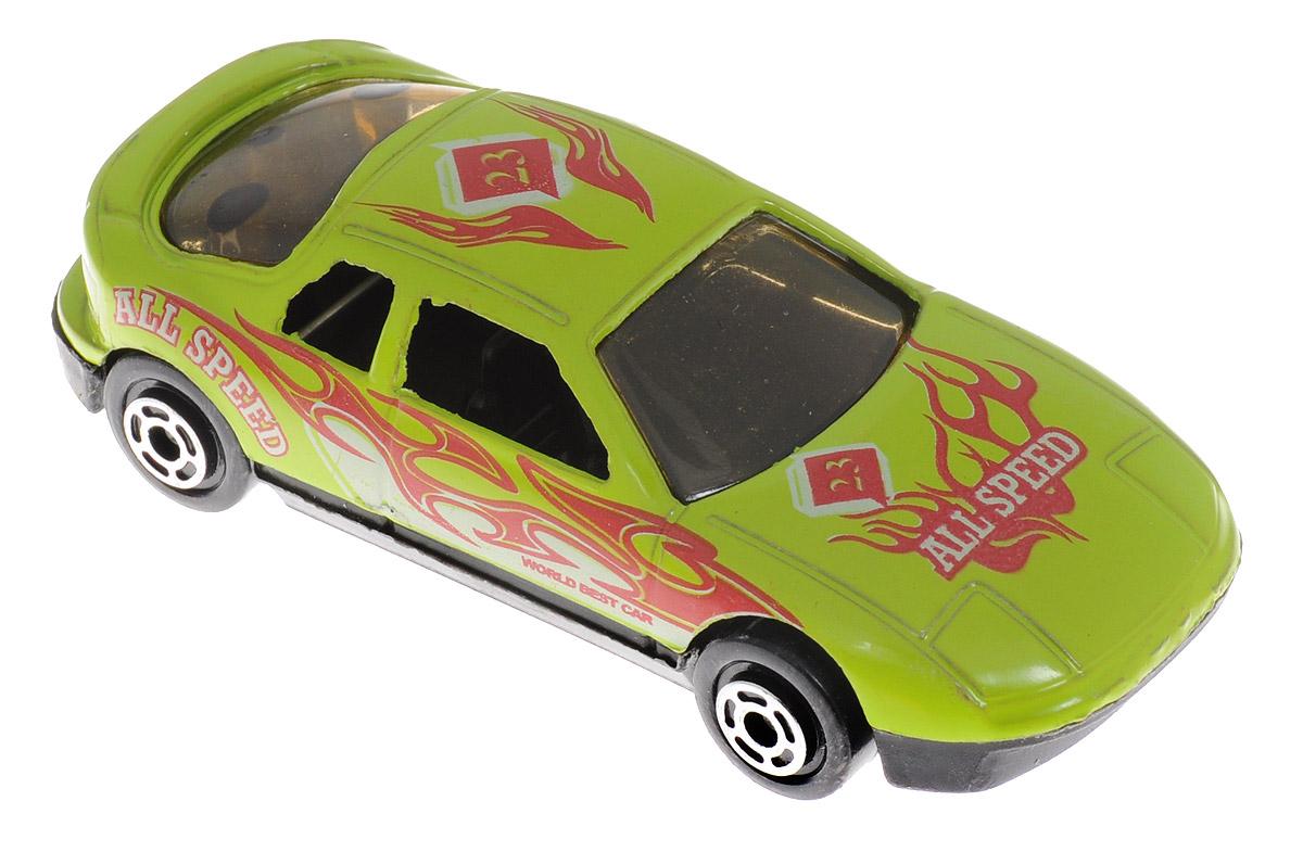 Big Motors Машинка цвет салатовыйJP632_салатовыйМашинка Big Motors станет любимой игрушкой вашего малыша. Игрушка представляет собой спортивную машину. Колеса имеют свободный ход. Ваш ребенок будет часами играть с этой машинкой, придумывая различные истории.