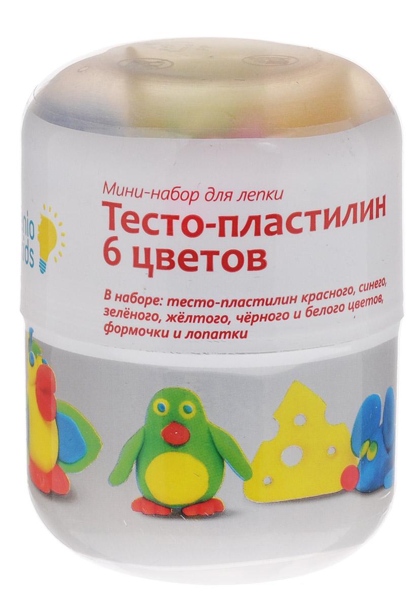 Genio Kids Мини-набор для лепки «Тесто-пластилин 6 цветов»