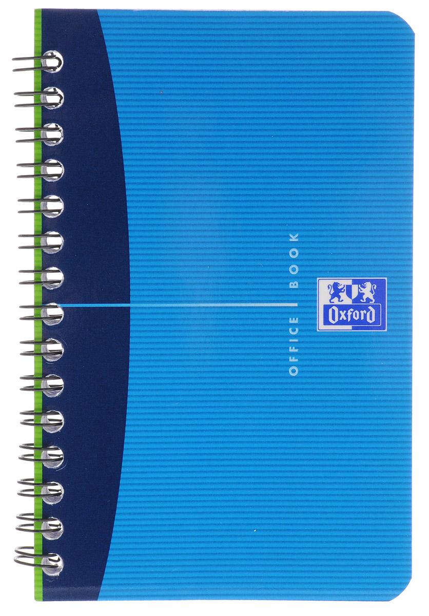Oxford Тетрадь Essentials 50 листов в клетку цвет синий822568_синийТетрадь Oxford Essentials подойдет как студенту, так и школьнику. Гибкая, прочная обложка с закругленными углами выполнена из картона. Внутренний блок тетради на гребне состоит из 50 листов. Стандартная линовка в клетку не имеет полей. Высококачественная бумага Optik Paper имеет шелковистую поверхность и высокую белизну, при письме чернила быстро впитаются и не размазываются, надпись не просвечивается с обратной стороны.
