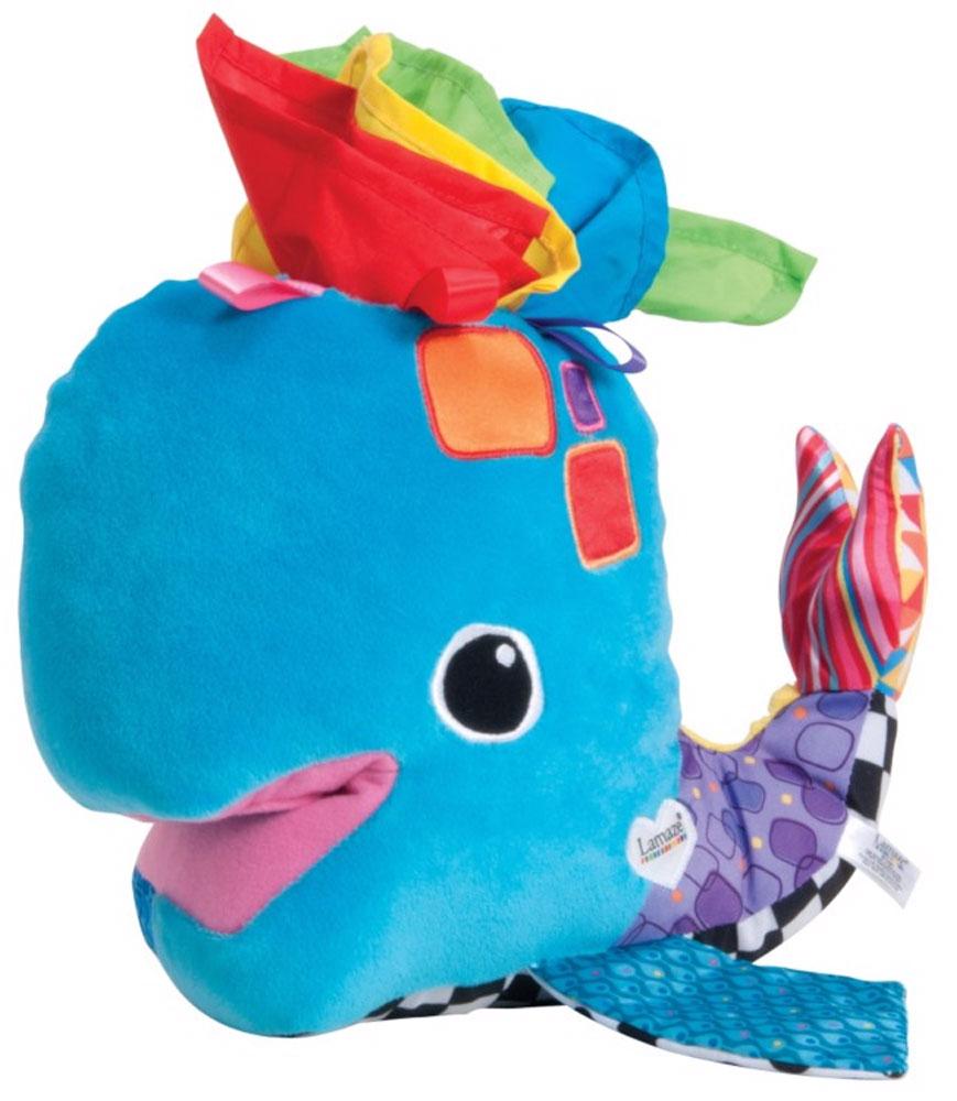Tomy Развивающая игрушка Китенок ФрэнкиLC27236-Мягкая игрушка полна сюрпризов для малыша: китенка можно кормить разноцветными платочками, а затем вытаскивать их через его дыхала. -Китенок сшит из ярких тканей различных фактур, которые приятны на ощупь для маленьких ручек.