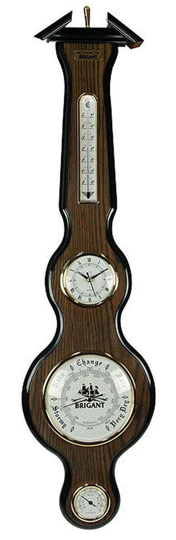 Часы-метеостанция Brigant: часы, барометр, термометр, гигрометр. 2814528145