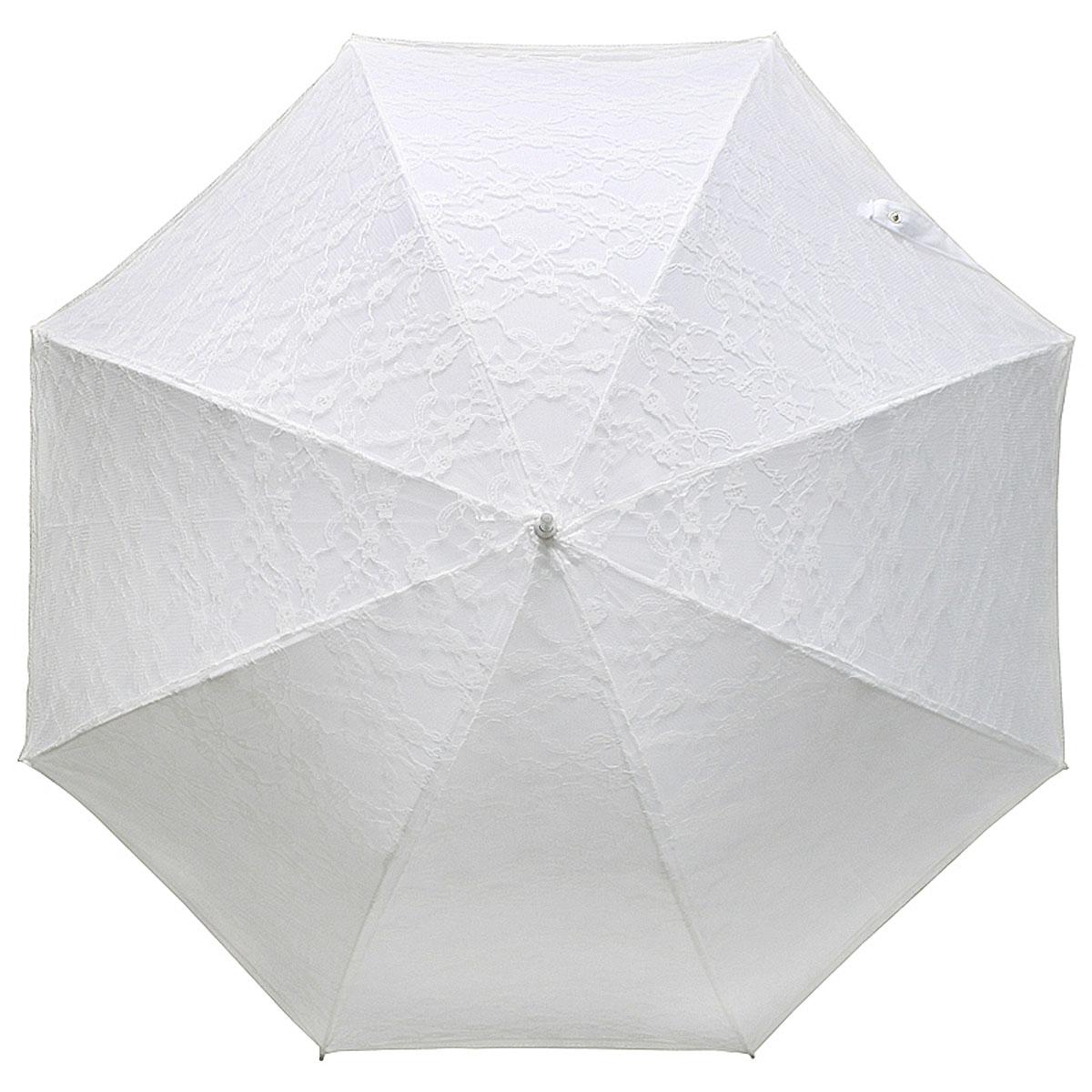 Зонт-трость женский Vogue, свадебный, цвет: белый. 101/1 V101-1 VСтильный свадебный зонт-трость испанского производителя Vogue оснащен каркасом с противоветровым эффектом. Каркас зонта включает 8 спиц. Стержень изготовлен из легкого алюминия, купол выполнен из прочного полиэстера. Зонт является механическим: купол открывается и закрывается вручную до характерного щелчка.