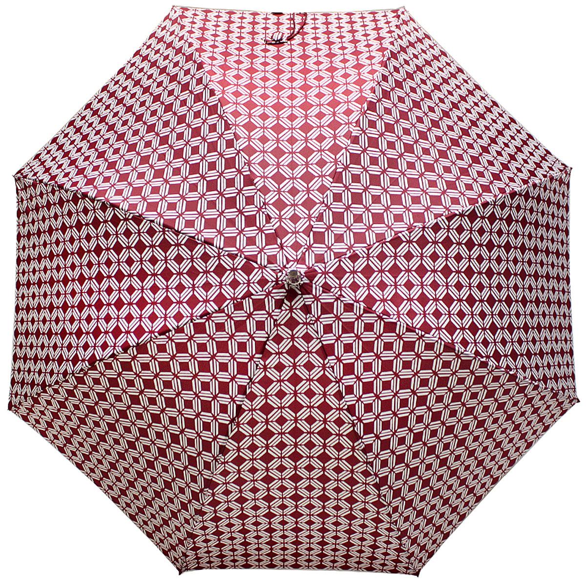 Зонт-трость женский Vogue, Автомат, цвет: красный. 124V-4124V-4Коллекция Vogue, отражающая самые последние тенденции в моде, очень удачно сочетается с практичностью и отличным качеством испанских зонтов, применение в производстве каркасов современных материалов уменьшает вес зонтиков и гарантирует надежность и качество. Рекомендации по использованию: Мокрый зонт нельзя оставять сложенным. Зонт после использования рекомндуется сушить в полураскрытом виде вдали от нагревательных приборов. Чистить зонт рекомендуется губкой, используя мягкие нещелочные растворы.
