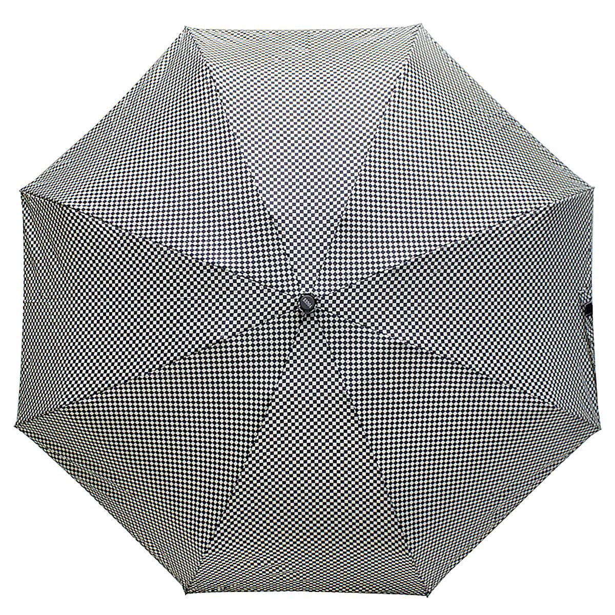 Зонт женский Vogue, цвет: черный, белый. 345V-2345V-2Стильный механический зонт испанского производителя Vogue оснащен каркасом с противоветровым эффектом. Каркас зонта включает 8 спиц. Стержень изготовлен из стали, купол выполнен из прочного полиэстера. Зонт является механическим: купол открывается и закрывается вручную до характерного щелчка. Такой зонт не только надежно защитит вас от дождя, но и станет стильным аксессуаром, который идеально подчеркнет ваш неповторимый образ. Рекомендации по использованию: Мокрый зонт нельзя оставлять сложенным. Зонт после использования рекомендуется сушить в полураскрытом виде вдали от нагревательных приборов. Чистить зонт рекомендуется губкой, используя мягкие нещелочные растворы.