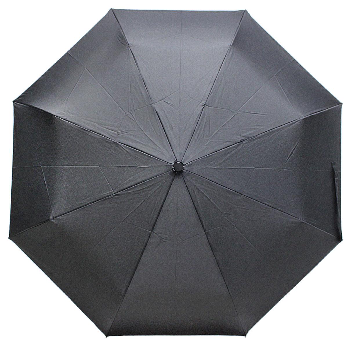 Зонт мужской Vogue, цвет: черный. 795 V795 VСтильный механический зонт испанского производителя Vogue оснащен каркасом с противоветровым эффектом. Каркас зонта включает 8 спиц. Стержень изготовлен из стали, купол выполнен из прочного полиэстера. Изделие имеет механический способ сложения: и купол, и стержень открываются и закрываются вручную до характерного щелчка. Такой зонт не только надежно защитит вас от дождя, но и станет стильным аксессуаром, который идеально подчеркнет ваш неповторимый образ. Рекомендации по использованию: Мокрый зонт нельзя оставлять сложенным. Зонт после использования рекомендуется сушить в полураскрытом виде вдали от нагревательных приборов. Чистить зонт рекомендуется губкой, используя мягкие нещелочные растворы.