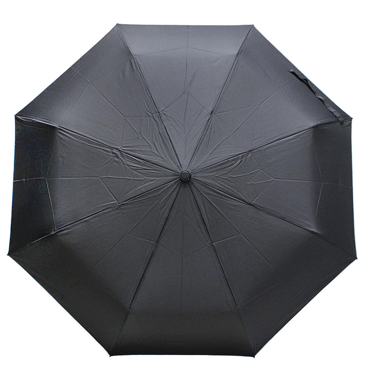 Зонт мужской Vogue, полный автомат, 3 сложения, цвет: черный. 799 V799 VЗонт полный автомат Vogue Каркас имеет противоветровый эффект 3 сложения Стержень: сталь 8 спиц по 58см. Диаметр купола: 104см. Вес: 382гр. Длина в сложенном положении: 33 см. Коллекция Vogue, отражающая самые последние тенденции в моде, очень удачно сочетается с практичностью и отличным качеством испанских зонтов, применение в производстве каркасов современных материалов уменьшает вес зонтиков и гарантирует надежность и качество. Рекомендации по использованию: Мокрый зонт нельзя оставять сложенным. Зонт после использования рекомндуется сушить в полураскрытом виде вдали от нагревательных приборов. Чистить зонт рекомендуется губкой, используя мягкие нещелочные растворы.