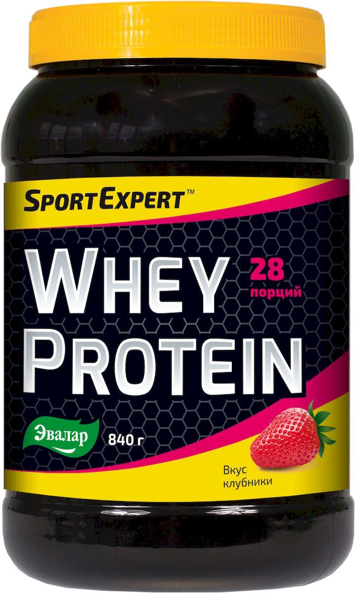 SportExpert Whey Protein, Протеиновый коктейль, порошок, 840 г4602242008880SportExpert Protein Mix Строительный комплекс для мышц SportExpert Protein Mix - высококачественный многокомпонентный протеин. Оптимальное количество белка в одном коктейле обеспечивает организм полным набором необходимых аминокислот в течение дня и даже во время сна. Высокое качество SportExpert Protein Mix в сочетании с витаминным премиксом и потрясающим ванильным вкусом делают коктейль идеальной добавкой, подходящей к любой диете и нагрузке. Преимущества SportExpert Protein Mix: - Высокое содержание белка в порции - 80% - Усилен витаминным комплексом - Богатый аминокислотный комплекс - Низкое содержание углеводов - Легко растворяется - Превосходный ванильный вкус - Все компоненты произведены в Германии и Франции - Удобная упаковка с мерной ложкой внутри. Рекомендации по применению: - 2 мерные ложки продукта (30 г) смешать с 300 мл обезжиренного или с низким содержанием жира молока или воды. - Принимать за 2 часа до...