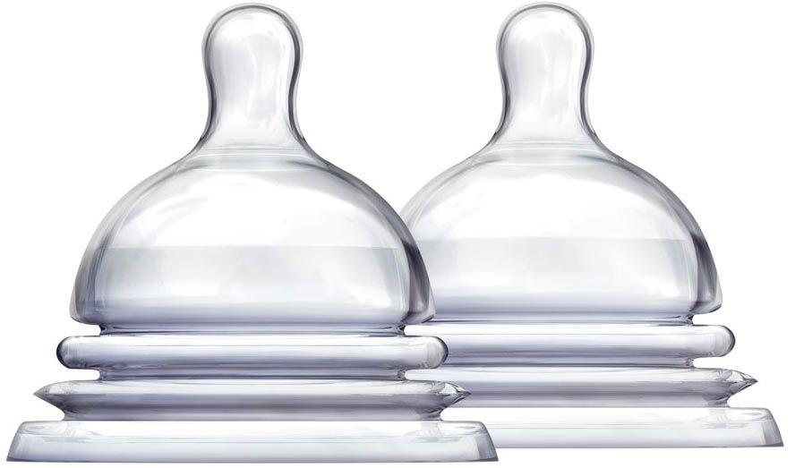Munchkin Соска силиконовая от 6 месяцев 2 шт11786Соска силиконовая для бутылочки;Munchkin Latch 3+ Особое гибкое основание соски, напоминающее гармошку, позволяет держать бутылочку под углом, при этом ребенок комфортно себя чувствует во время кормления даже при смене положения тела. Широкое основание и форма соски обеспечивает правильный захват соски ребенком, что препятствует заглатыванию воздуха и снижает вероятность возникновения коликов. -;соски;Latch размера;2 и 3 (3+ мес. и 6+ мес.) позволяют постепенно увеличить поток по мере роста малыша - соска обеспечивает максимально естественное кормление, приближенное к грудному - подходят для мытья в верхней части посудомоечной машины- в комплекте 2 штуки