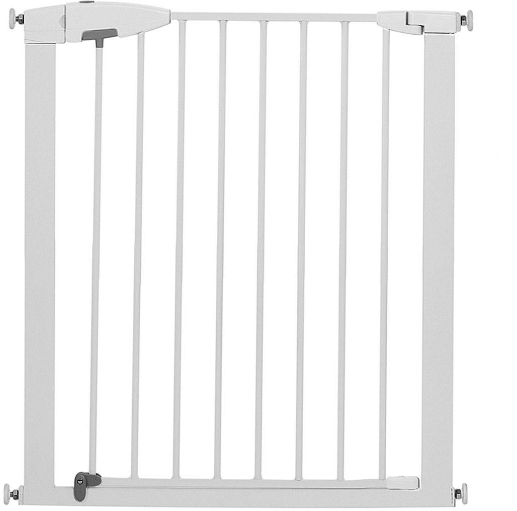 Munchkin Ворота безопасности Easy Close11444MUNCHKIN барьеры-ворота Easy Close 75-82 см Дверное ограждение Munchkin;поможет ограничить передвижения малыша, закрыв доступ к небезопасным для него местам.; Характеристики: Высота 75 см Регулируется по ширине: от 75 до 82 см Ворота открываются в двух направлениях