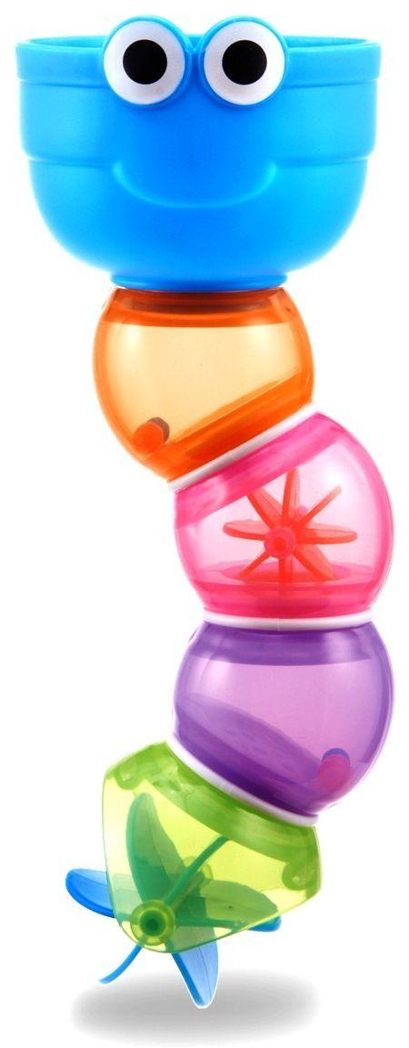 Munchkin Игрушка для ванной Змейка12310Игрушка для ванны Змейка Munchkin Пять ярких формочек соединены в красочную змейку, которая позволяет малышку наблюдать, как вода проливается через отверстия разной формы - теперь купание станет сплошным весельем!- развивает мелкую моторику, зрительное восприятие, творческое мышление ребенка- эргономичная форма для детских ручек- рекомендуемый возраст: от 6 месяцевМиссия Munchkin, американской компании с 20-летней историей: избавить мир от надоевших и прозаических товаров, искать умные инновационные решения, которые превращает обыденные задачи в опыт, приносящий удовольствие. Понимая, что наибольшее значение в быту имеют именно мелочи, компания создает уникальные товары, которые помогают поддерживать порядок, организовывать пространство, облегчают уход за детьми – недаром компания имеет уже более 140 патентов и изобретений, используемых в создании ее неповторимой и оригинальной продукции. Munchkin делает жизнь родителей легче!