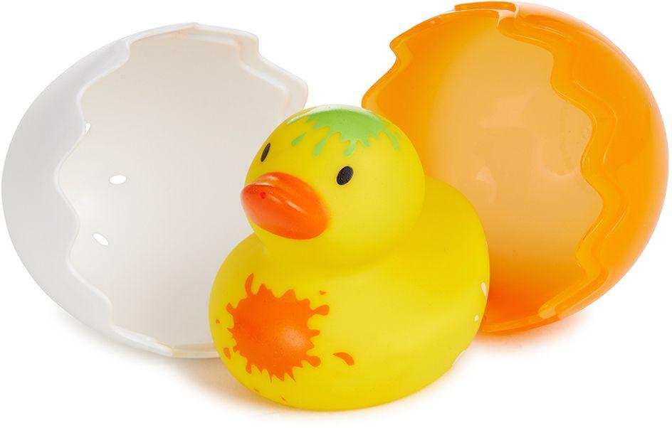 Munchkin Игрушка для ванной Утенок12309Игрушка для ванны Munchkin Утенок Симпатичные уточки для купания;Munchkin;стали уже, пожалуй, самыми любимыми игрушками;всех малышей и их родителей. А этот необычный цыпленок создан специально для самых маленьких - он вылупляется из скорлупы, удивляя своей необычной расцветкой, и доставляет крохе массу удовольствия во время купания! - скорлупками можно зачерпывать и переливать водичку - цыпленок брызгается водой - подходит для малышей с 6-ти месяцев - игрушка представлена в 3-х цветах, для данного товара нет возможности выбрать расцветку - развивает мелкую моторику Миссия Munchkin, американской компании с 20-летней историей: избавить мир от надоевших и прозаических товаров, искать умные инновационные решения, которые превращает обыденные задачи в опыт, приносящий удовольствие. Понимая, что наибольшее значение в быту имеют именно мелочи, компания создает уникальные товары, которые помогают поддерживать порядок, организовывать пространство, облегчают уход за детьми – недаром...