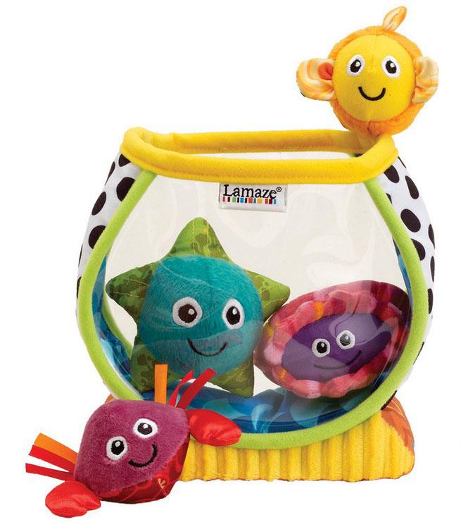 Tomy Развивающая игрушка Рыбки