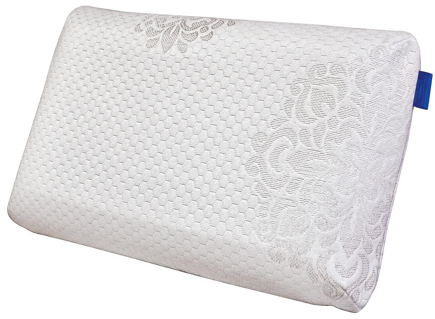 Подушка ортопедическая IQ Sleep Grand Sensation, с эффектом памяти, 38 х 58 х 14 см16773Анатомическая супер комфортная подушка с эффектом пямяти GRAND SENSATION, 38 х 58 х 14 см.
