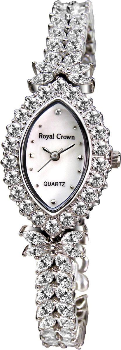 Часы наручные женские Royal Crown, цвет: серебристый. 3588-B17-RDM-53588-B17-RDM-5Royal Crown- воплощение безукоризненного стиля и надежности.Это изысканный итальянский дизайн,высококачественные механизмы.