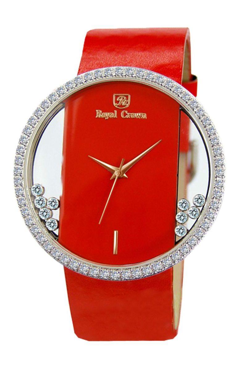 Часы наручные женские Royal Crown, цвет: серебристый. 6110-RDM-36110-RDM-3Royal Crown- воплощение безукоризненного стиля и надежности.Это изысканный итальянский дизайн,высококачественные механизмы.