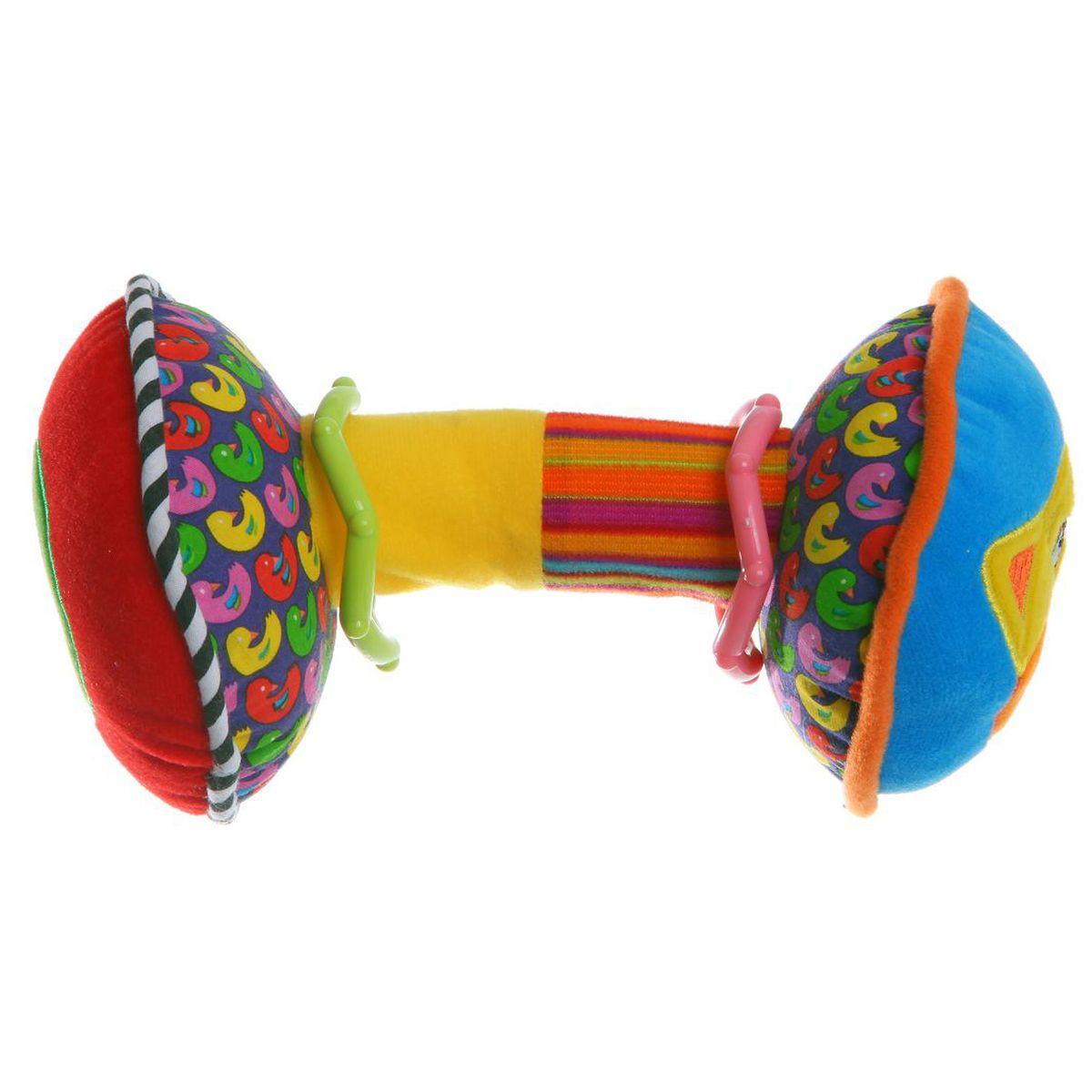 Bondibon Мягкая развивающая игрушка Гантели