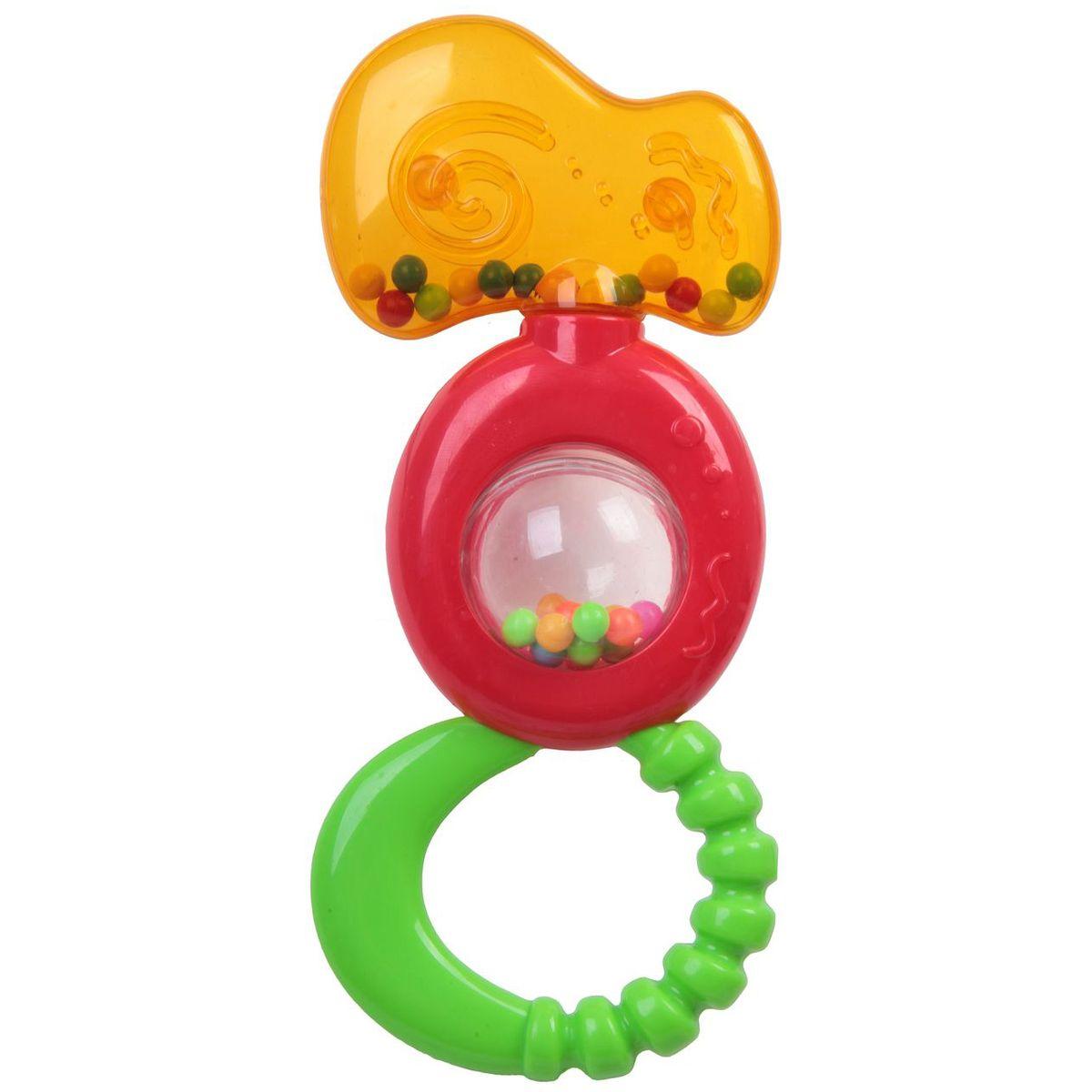 Bondibon Погремушка с прорезывателем и шариками