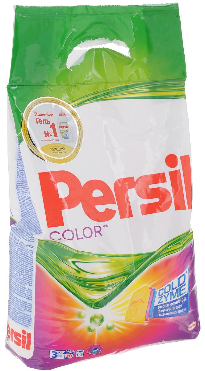 Стиральный порошок Persil Color, 3 кг902492_Стиральный порошок Persil Color - это стиральный порошок с инновационной формулой, которая содержит активные капсулы пятновыводителя. Эти капсулы быстро растворяются в воде и начинают действовать на пятно уже в самом начале стирки. Благодаря эксклюзивному компоненту, Persil Color отлично удаляет даже сложные пятна, а специальные цветозащитные компоненты сохраняют яркие цвета ткани. Кроме того, он делает белье белоснежным и придает ему свежий аромат. Подходит для стирки цветных и белых изделий из х/б, льняных, синтетических тканей и тканей из смешанных волокон в стиральных машинах- автоматах в воде любой жесткости. Состав: 5-15% анионные ПАВ, кислородсодержащий отбеливатель, Товар сертифицирован.