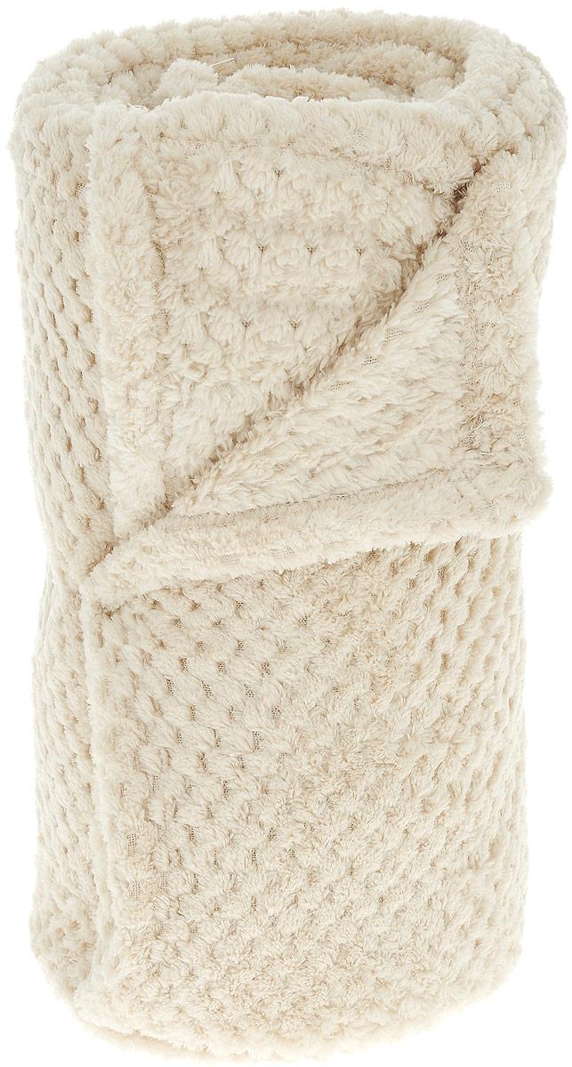 Плед Seta, 140 х 200 см, цвет: бежевый02306816Плед Seta выполнен из 100% полиэстера. Прекрасные пледы компании Seta окутают Вас теплом и лаской в самые суровые морозы. А в теплое время года придадут необыкновенную элегантность интерьеру Вашего дома. Плед легко стирается и быстро сохнет, на нем не образуются катышки.