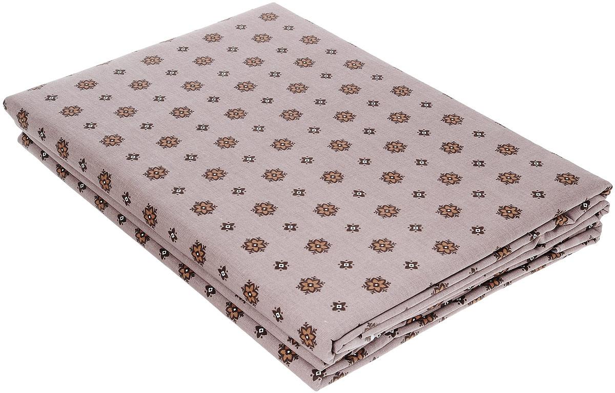 Комплект белья Олеся, 2-спальный, наволочки 70 х 70, цвет: шоколад2050115956/шоколадКомплект белья Олеся, выполненный из бязи (100% хлопка), состоит из двух простыней и двух наволочек. Бязь - хлопчатобумажная ткань полотняного переплетения без искусственных добавок. Большое количество нитей делает эту ткань более плотной, более долговечной. Высокая плотность ткани позволяет сохранить форму изделия, его первоначальные размеры и первозданный рисунок. Приобретая комплект постельного белья Олеся, вы можете быть уверенны в том, что покупка доставит вам и вашим близким удовольствие и подарит максимальный комфорт.