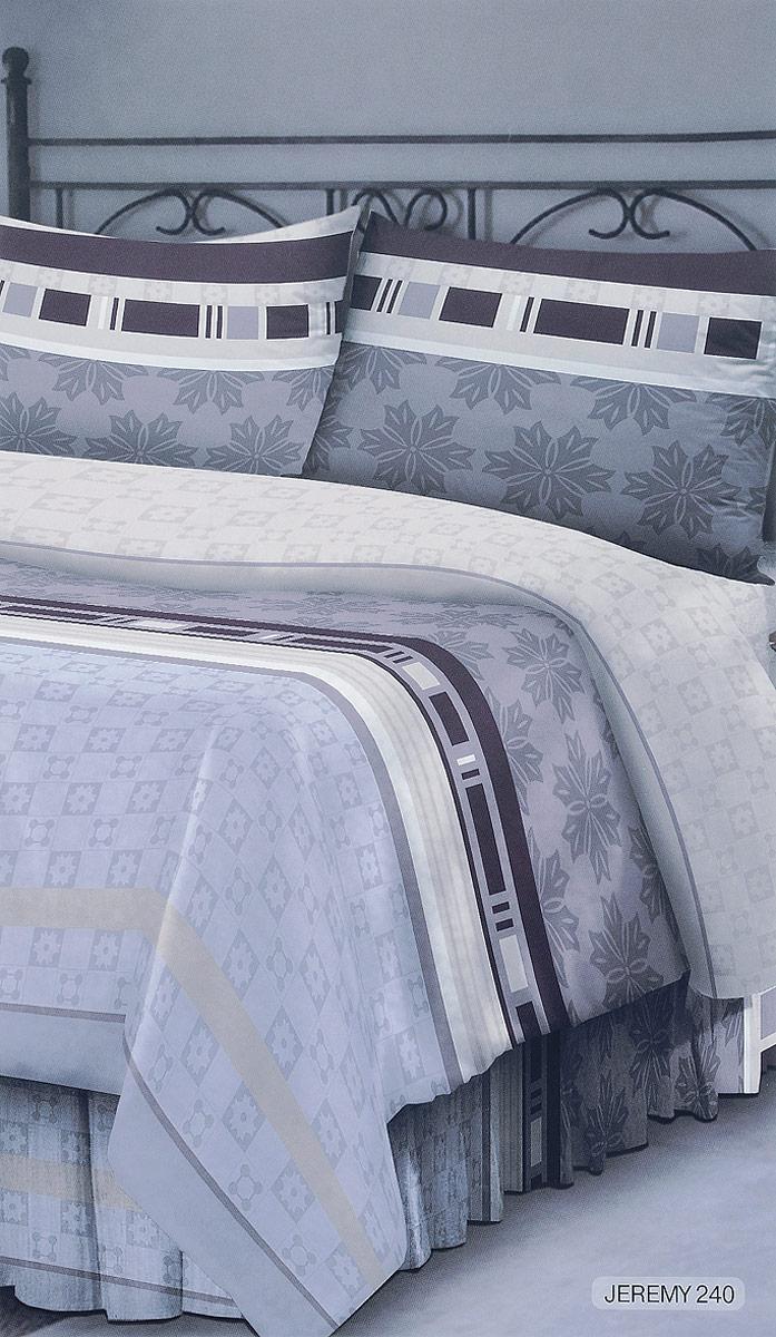 Комплект белья Seta Verona. Jeremy, 1,5-спальный, наволочки 50x70015812240Комплект постельного белья Seta Verona. Jeremy выполнен из натурального хлопка. Комплект состоит из пододеяльника, простыни и двух наволочек. Постельное белье оформлено оригинальным рисунком и имеет изысканный внешний вид. Гладкая структура делает ткань приятной на ощупь, мягкой и нежной, при этом она прочная и хорошо сохраняет форму. Приобретая комплект постельного белья Seta Verona. Jeremy, вы можете быть уверенны в том, что покупка доставит вам и вашим близким удовольствие и подарит максимальный комфорт.