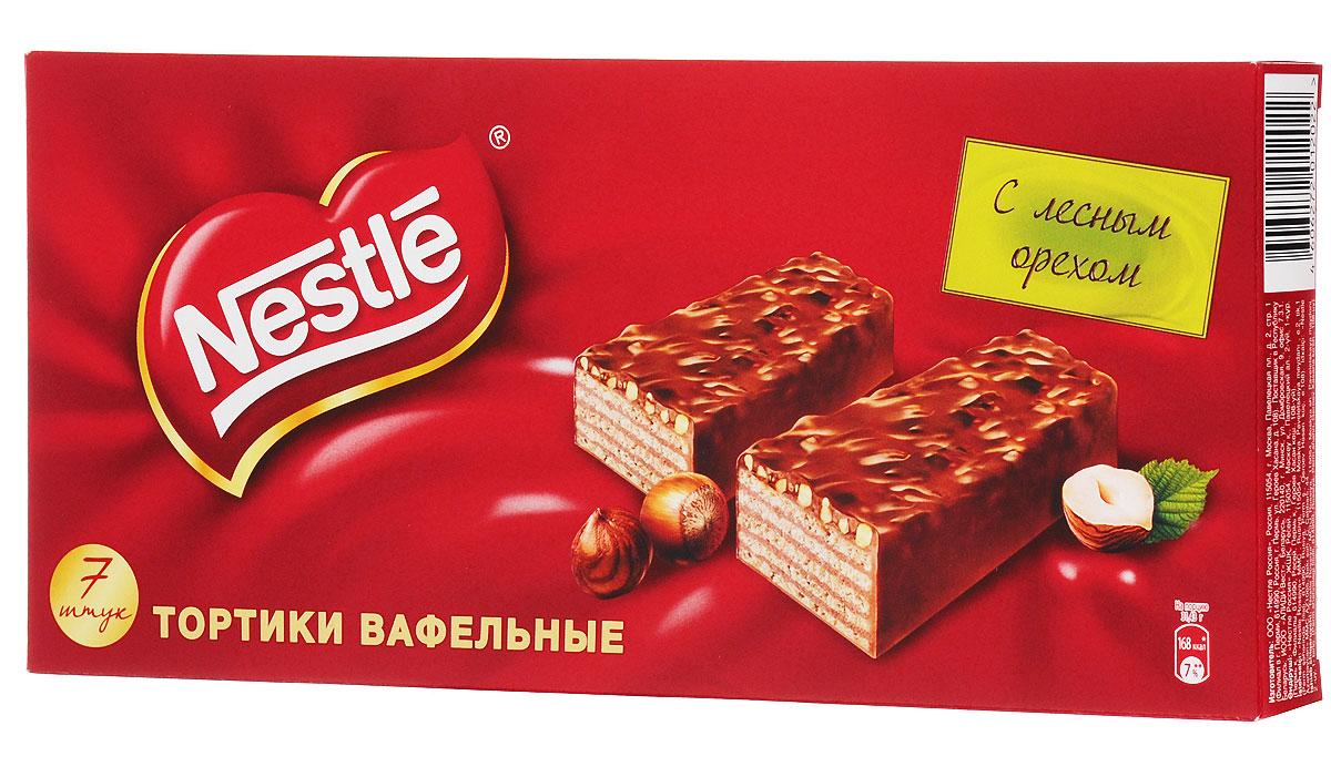 Nestle тортики вафельные с лесными орехами, 220 г 12104131