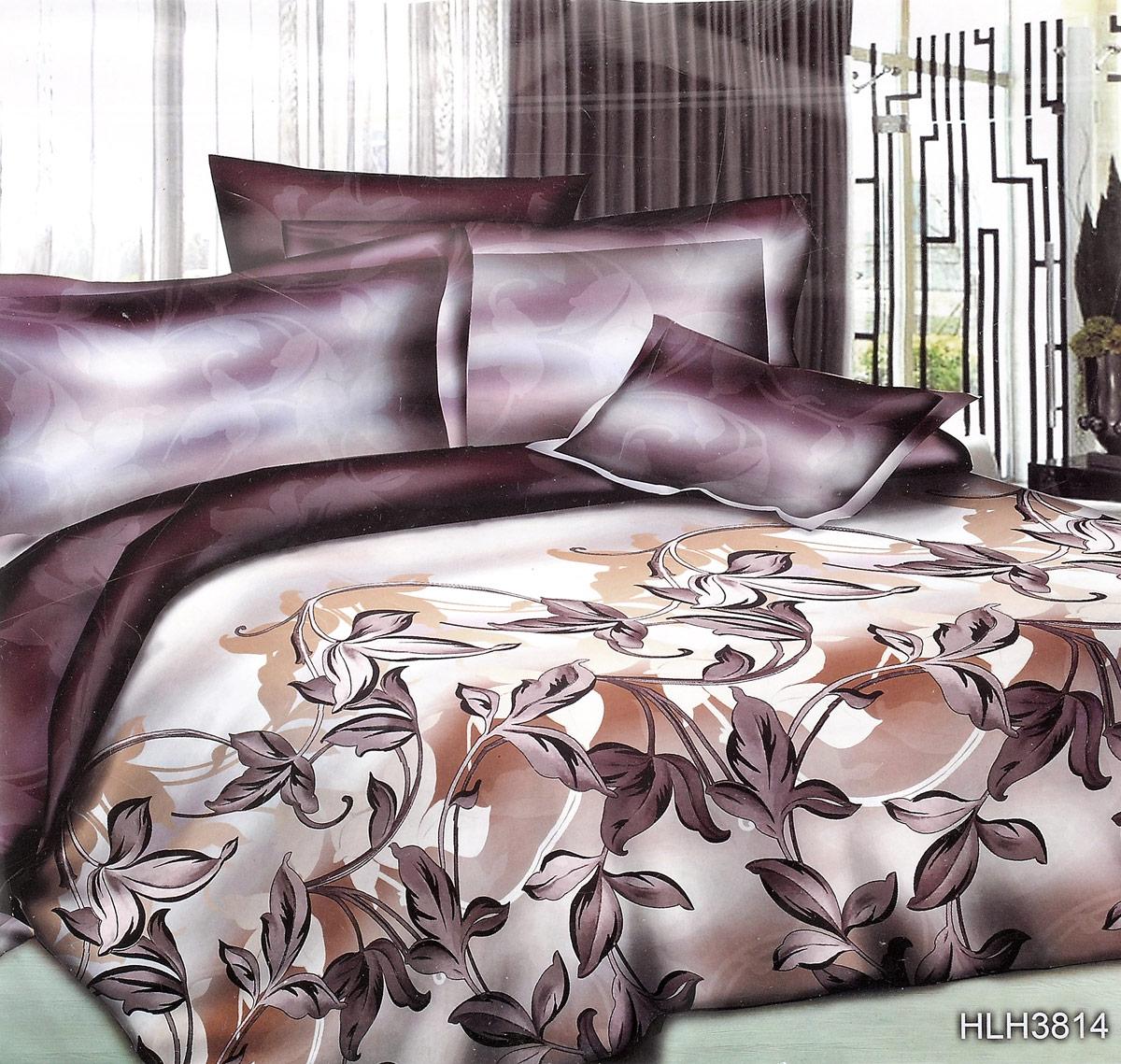 Комплект белья ЭГО Шанталь, 2-спальный, наволочки 70x70Э-2026-02Комплект белья ЭГО Шанталь выполнен из полисатина (50% хлопка, 50% полиэстера). Комплект состоит из пододеяльника, простыни и двух наволочек. Постельное белье имеет изысканный внешний вид и яркую цветовую гамму. Гладкая структура делает ткань приятной на ощупь, мягкой и нежной, при этом она прочная и хорошо сохраняет форму. Ткань легко гладится, не линяет и не садится. Приобретая комплект постельного белья ЭГО Шанталь, вы можете быть уверенны в том, что покупка доставит вам и вашим близким удовольствие и подарит максимальный комфорт.