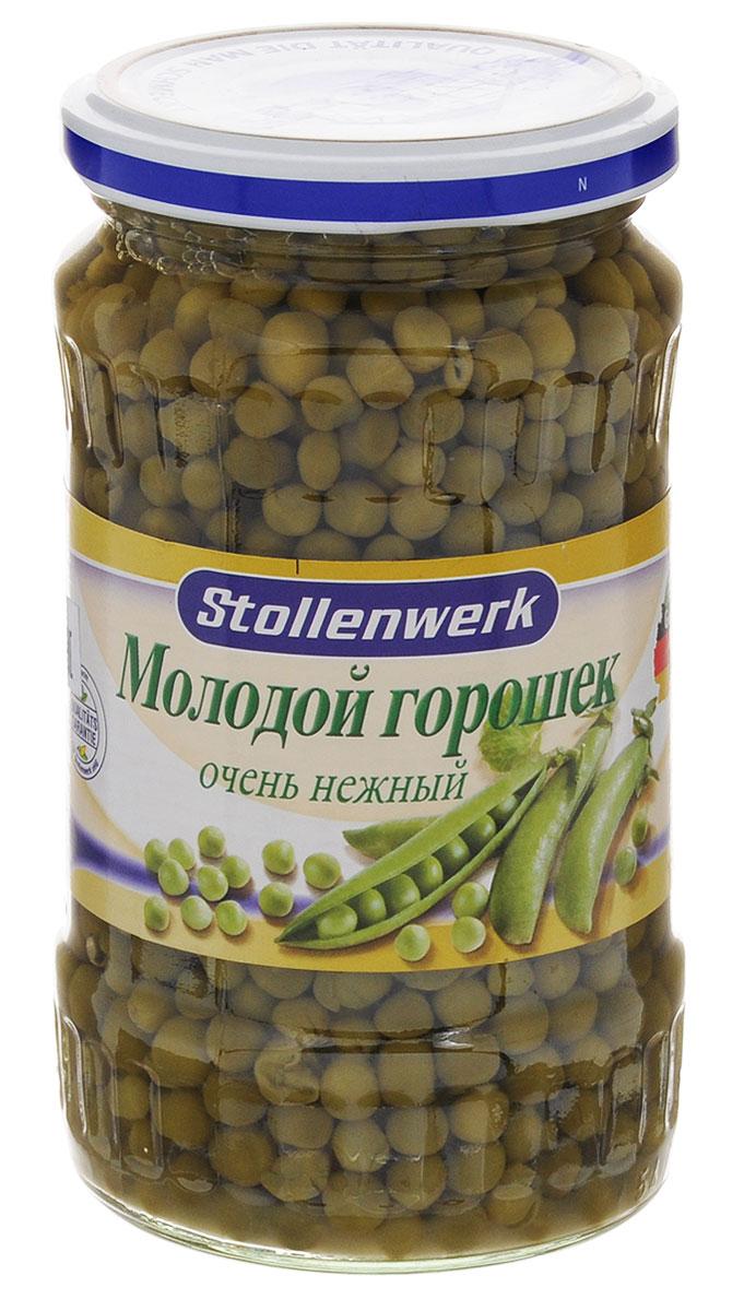 Stollenwerk горошек молодой деликатесный, 370 мл