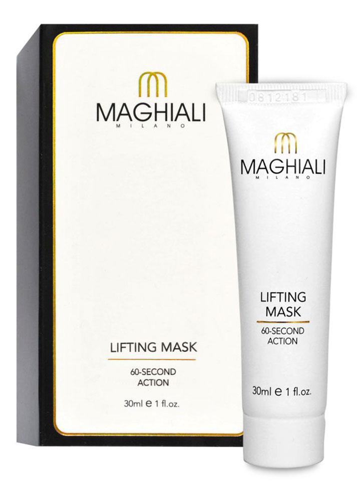 Maghiali Лифтинг-маска Lifting Mask. 60 секунд, 30 млУТ-00000152Maghiali совершает революцию, благодаря уникальной, защищенной патентом формуле. Эта формула, основанная на микротехнологии, позволяет добиться успеха там, где обычные косметологические процедуры бессильны, и демонстрирует впечатляющие результаты уже после первого применения! Маска Maghiali содержит гиалуроновую кислоту и коллаген. Эффективно разглаживает морщины и придает коже более упругий вид, при этом сужает поры и удаляет пятна. Маска Maghiali также содержит аргановое масло и эластин, помогающие замедлить старение кожи и поддерживать естественный, здоровый цвет лица. С Maghiali не нужно тратить время на процедуры косметолога, и уж, конечно, нет никакой необходимости в применении ботокса и выполнении пластических операций! Постоянное применение маски Maghiali один или два раза в неделю (зависимости от глубины морщин) разглаживает глубокие и мелкие морщины даже в таких чувствительных местах, как шея и декольте. Моментальный результат! Уже после первого использования...