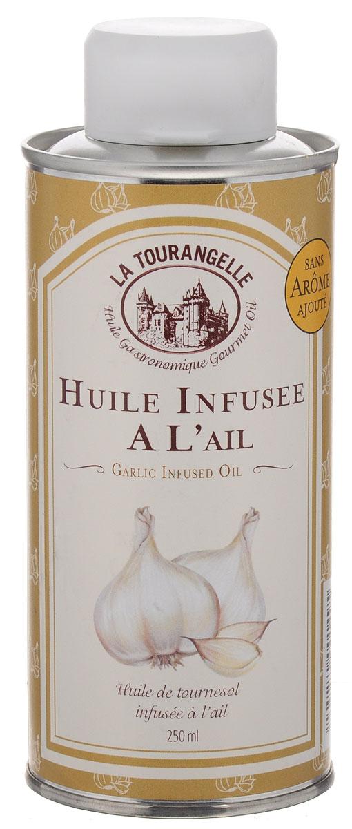 La Tourangelle Garlic Infused Oil масло подсолнечное с экстрактом чеснока, 250 мл