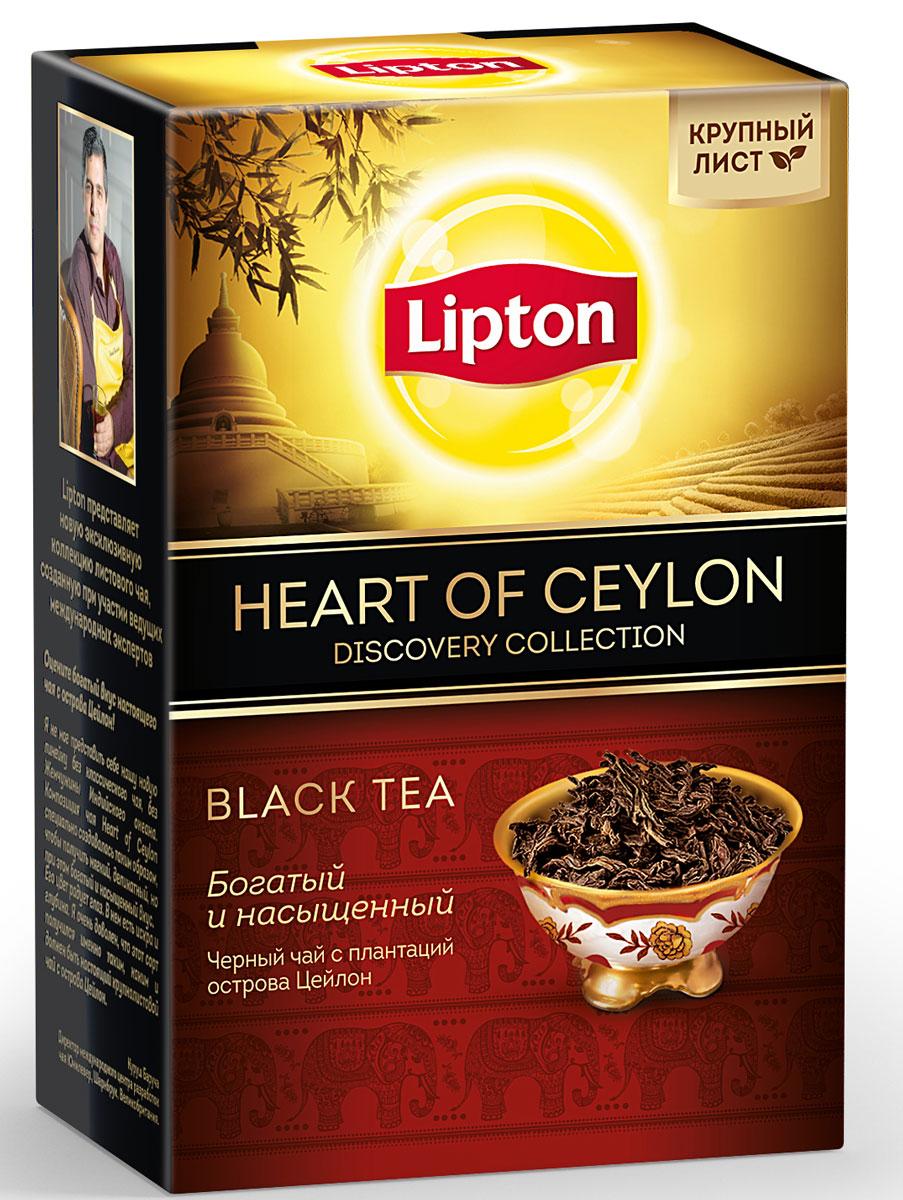 Lipton Heart of Ceylon черный листовой чай, 85 г8714100712474