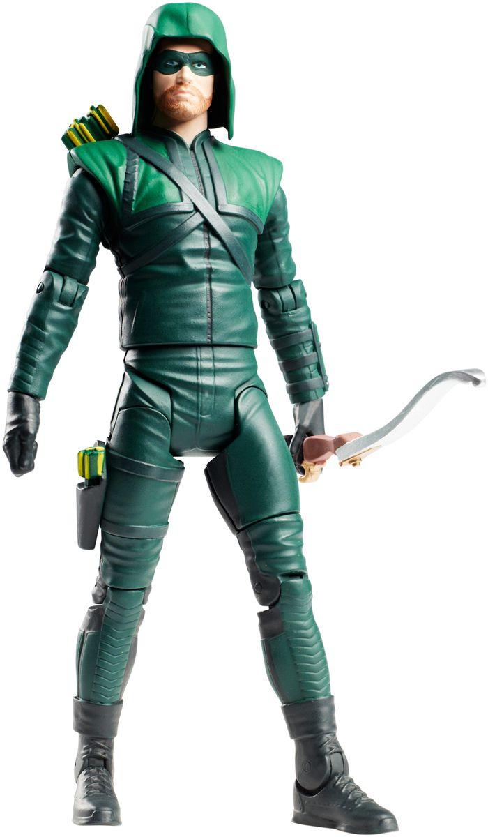 DC Comics Фигурка СтрелаDKN35Фигурка DC Comics Стрела выполнена из безопасного пластика в виде персонажа комиксов. У фигурки подвижные руки, ноги и голова. Такая фигурка непременно придется по душе вашему ребенку и станет замечательным украшением любой коллекции. Супергерой Стрела использует для борьбы с преступностью лук и специальные стрелы с необычным назначением. Эти стрелы могут нести взрывчатку, бомбу с таймером, крюки, световые гранаты, сети и существуют даже такие необычные вариации, как замораживающие стрелы и стрелы с криптонитом. В комплекте также идет элемент для сборки фигурки другого персонажа. Соберите все 6 фигурок коллекции, и вы сможете собрать еще одну фигурку персонажа Doomsday из масштабного перезапуска вселенной DC Comics The New 52.