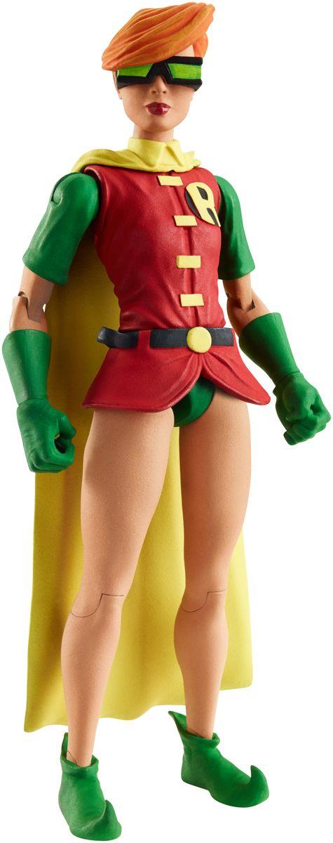 DC Comics Фигурка Робин из серии Возвращение темного рыцаряDNW69Фигурка DC Comics Робин из серии Возвращение темного рыцаря выполнена из безопасного пластика в виде персонажа комиксов. У фигурки подвижные руки, ноги и голова. Такая фигурка непременно придется по душе вашему ребенку и станет замечательным украшением любой коллекции. Робин из серии Возвращение темного рыцаря - это Кэролайн Кин Кэрри Келли, ставшая Робином после того, как она спасла жизнь Бэтмену. В комплекте также идет элемент для сборки фигурки другого персонажа. Соберите все 6 фигурок коллекции, и вы сможете собрать еще одну фигурку персонажа Doomsday из масштабного перезапуска вселенной DC Comics The New 52.