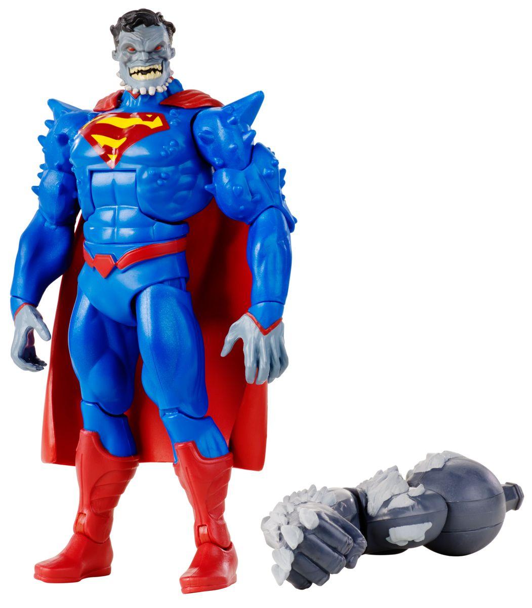 DC Comics Фигурка Супермен обреченныйDNW73Фигурка DC Comics Супермен обреченный выполнена из безопасного пластика в виде персонажа комиксов. У фигурки подвижные руки, ноги и голова. Такая фигурка непременно придется по душе вашему ребенку и станет замечательным украшением любой коллекции. Супермен обреченный - это Супермен, превратившийся после заражения вирусом Doomsday в невероятного монстра. В комплекте также идет элемент для сборки фигурки другого персонажа. Соберите все 6 фигурок коллекции, и вы сможете собрать еще одну фигурку персонажа Doomsday из масштабного перезапуска вселенной DC Comics The New 52.