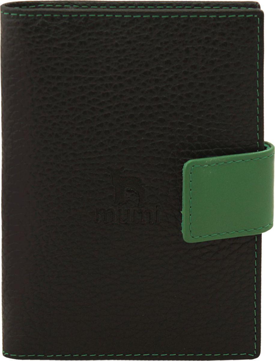 Бумажник водителя Dimanche Mumi, цвет: черный, зеленый. 454454_черный, зеленыйВнутри четыре кармана для визиток/кредиток, карман для sim карты и два вертикальных кармана. Пластиковый блок для все, необходимых водителю документов.