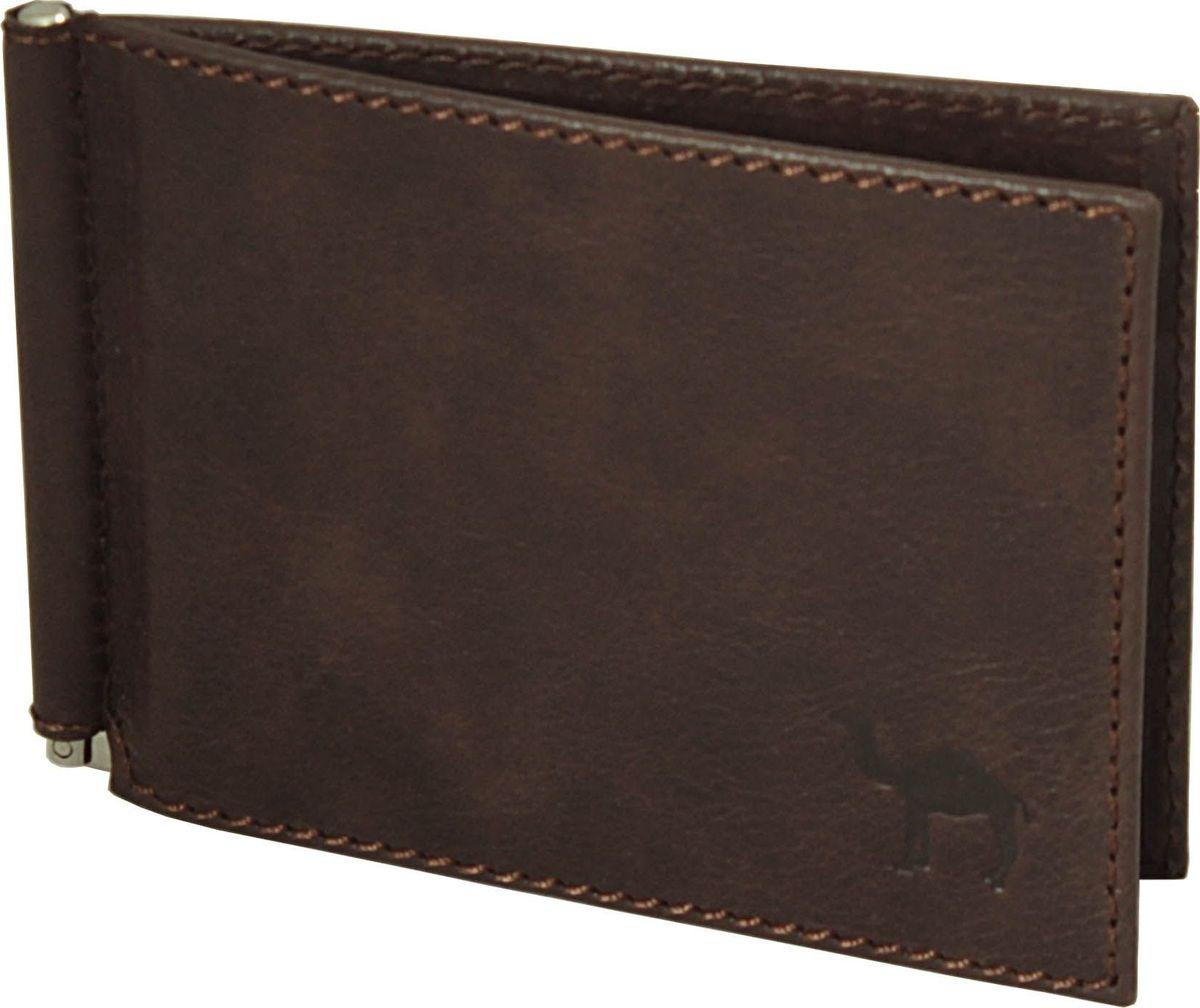 Зажим для денег мужской Dimanche Camel, цвет: коричневый. 639/К639/К_коричневый