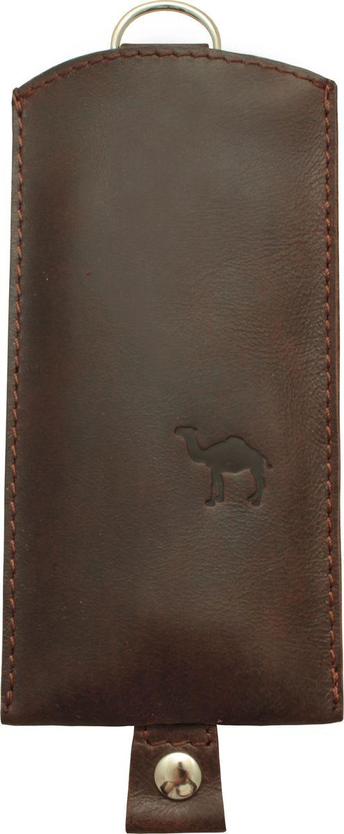 Ключница Dimanche Camel, цвет: коричневый. 257/20/К 257/20/К_коричневый