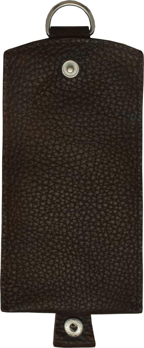 Ключница Dimanche Стрит, цвет: коричневый. 257/04 257/04_коричневый