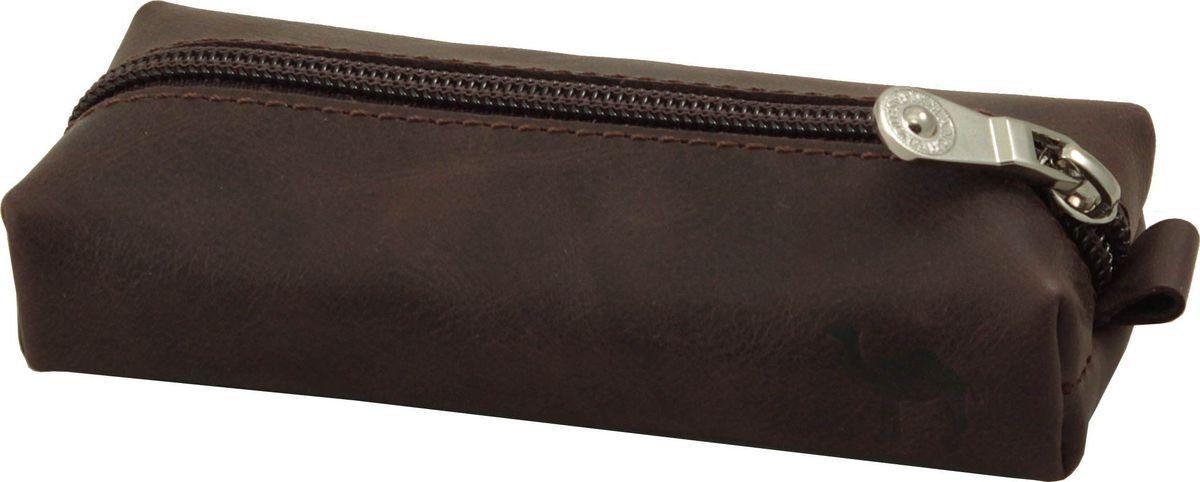Ключница мужская Dimanche Camel, цвет: коричневый. 636/К636/К_коричневыйКлючница закрывается на молнию, внутри кольцо для ключей, без подкладки. Упакована в пакет.