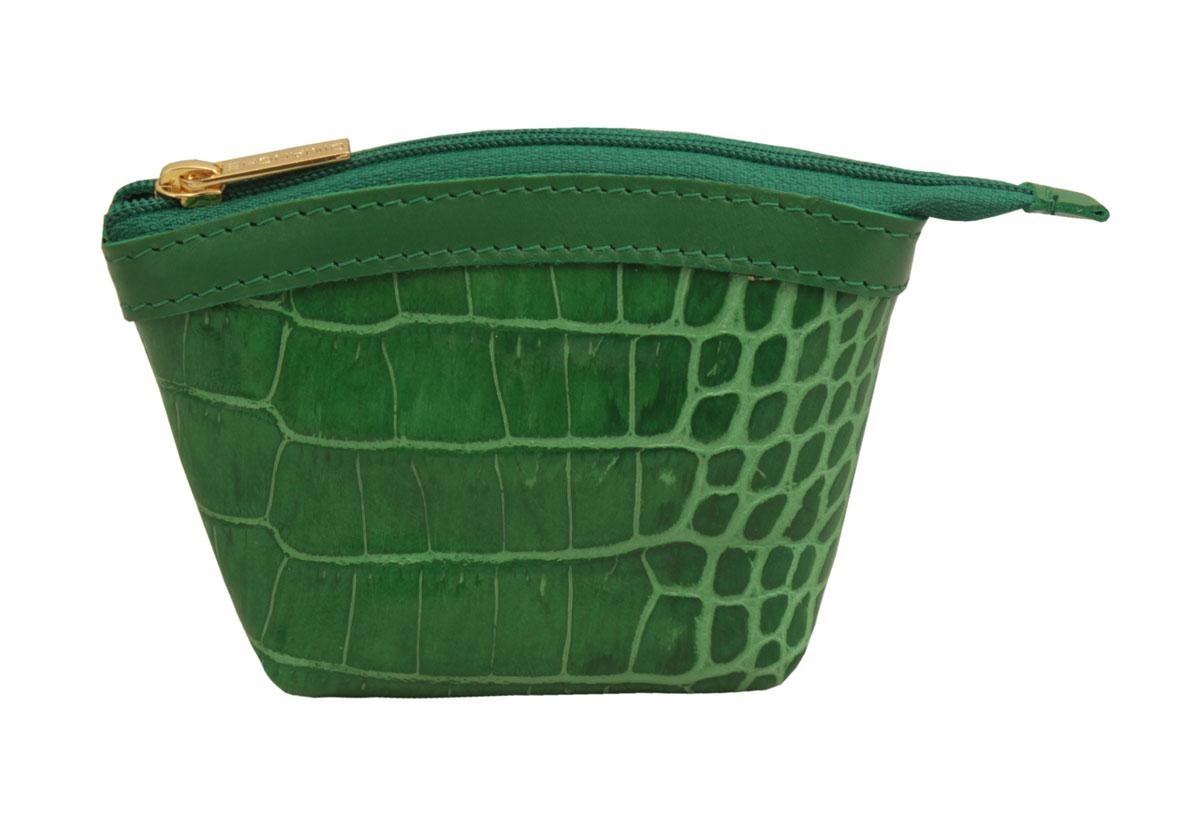 Кошелек-монетница женский Dimanche Казино, цвет: зеленый. 258/26258/26_зеленыйУдобный многофункциональный кошелечек-монетница. Закрывается на молнию, внутри на подкладке.