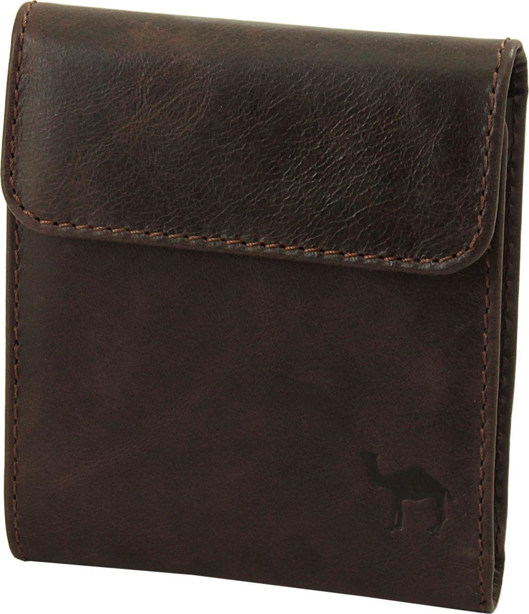 Портмоне мужское Dimanche Camel, цвет: коричневый. 279/К279/К_коричневыйУдобное портмоне Dimanche Camel изготовлено из натуральной кожи. Внутри имеется два открытых кармана для купюр и один карман на молнии, три кармашка для визиток/кредиток, два потайных кармана и карман для мелочи на кнопочке.