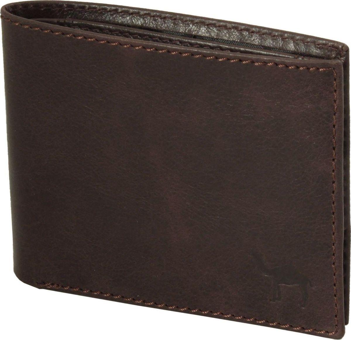 Портмоне мужское Dimanche Camel, цвет: коричневый. 635/к635/к_коричневыйУдобное небольшое мужское портмоне из мягкой натуральной кожи. Внутри два отделения для купюр, дополнительный карман, пять карманов для кредиток/визиток, отделение для мелочи на кнопочке и карман для sim карты. Закрывается на кнопочку.