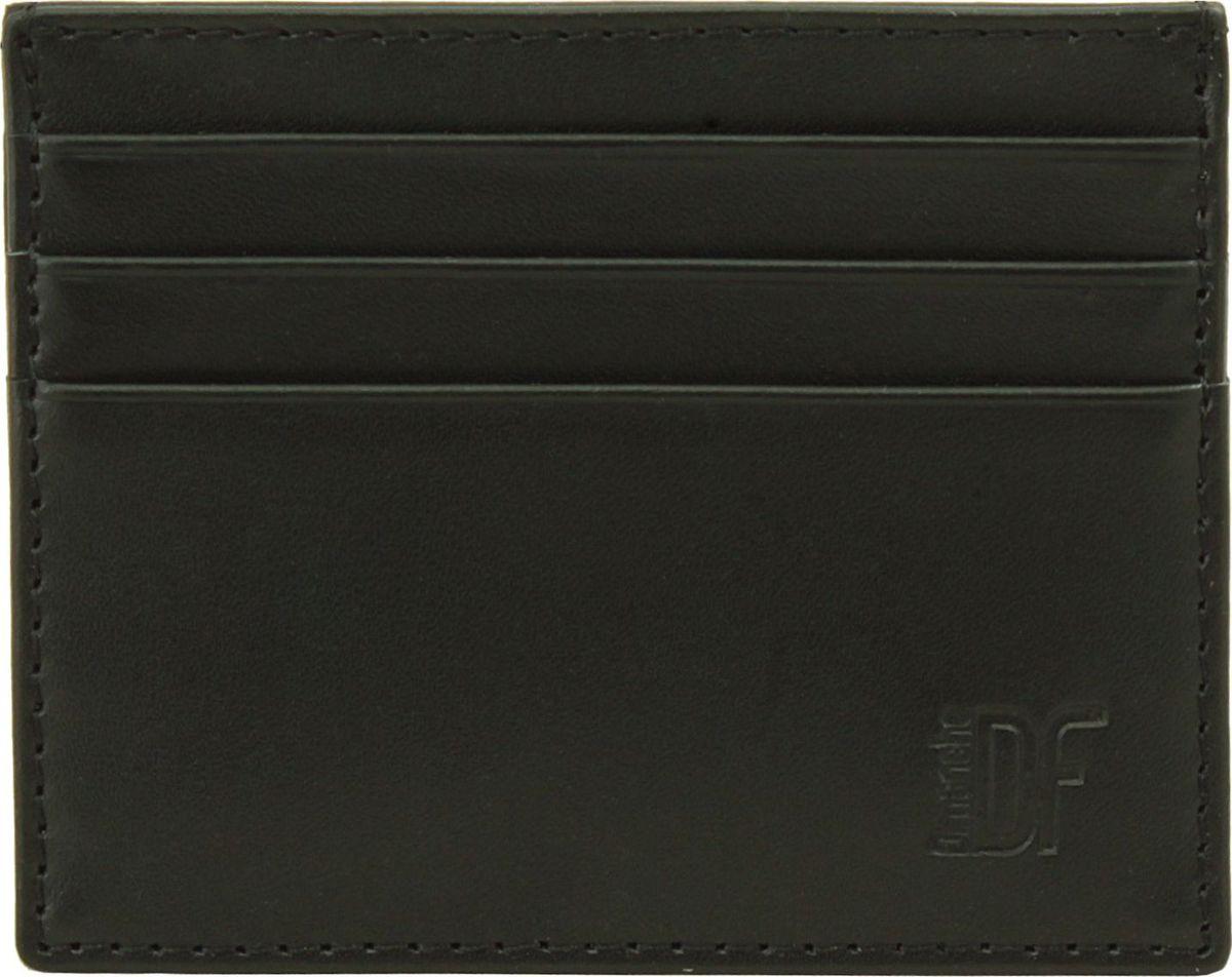 Визитница Dimanche Bond, цвет: черный. 339339_черныйМиниатюрная визитница Dimanche Bond для хранения визитных или кредитных кар изготовлена из натуральной кожи. С каждой стороны имеется по три кармашка и посередине потайной карман.