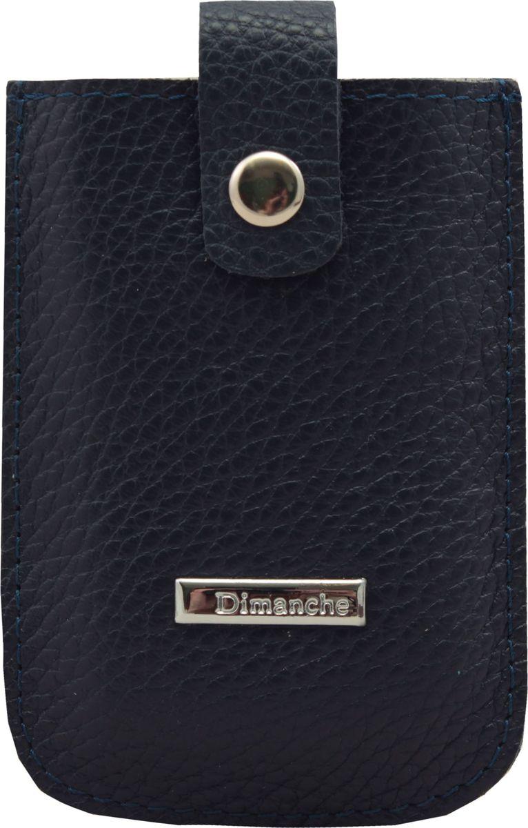 Футляр для дисконтных карт Dimanche, цвет: синий. 283/03283/03_синийУдобный компактный футляр для самых необходимых дисконтных или банковских карт. Движущийся хлястик позволяет быстро достать карточки.