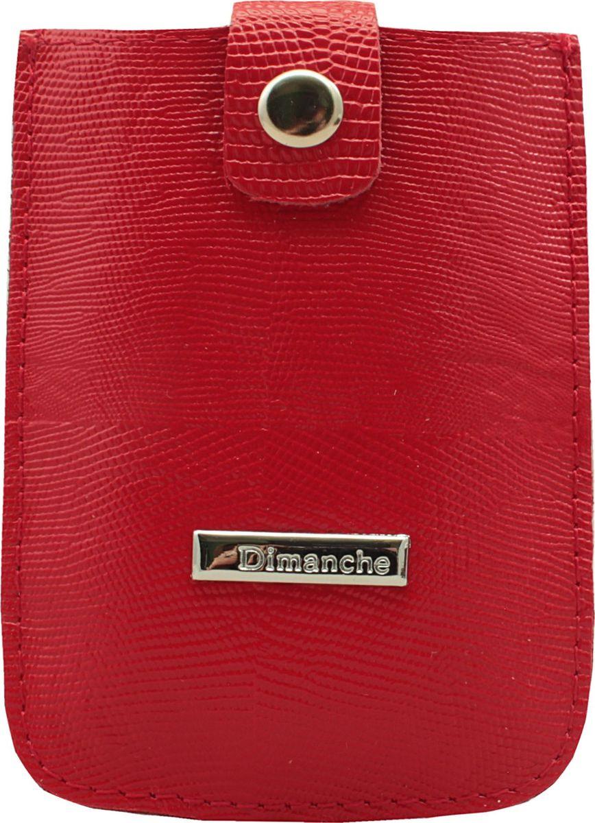 Футляр для дисконтных карт женский Dimanche, цвет: красный. 283/13283/13_красныйУдобный компактный футляр для самых необходимых дисконтных или банковских карт. Движущийся хлястик позволяет быстро достать карточки.