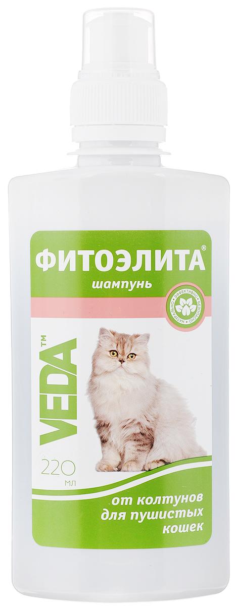 Шампунь для пушистых кошек VEDA