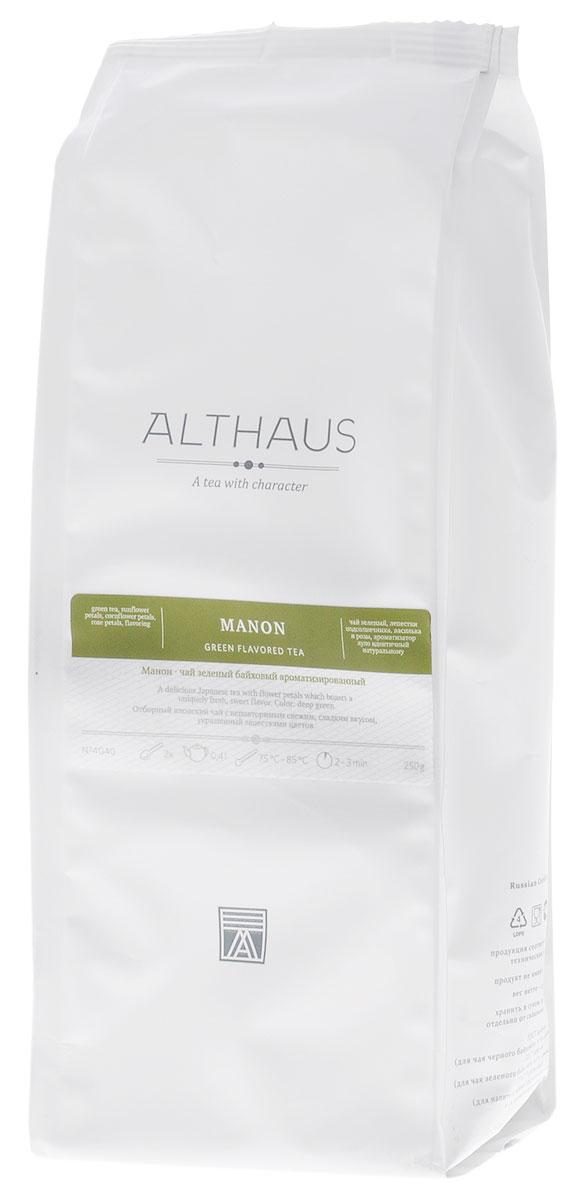 Althaus Manon зеленый листовой чай, 250 гTALTHL-L00123Althaus Манон — уникальное сочетание классического японского чая Сенча, многогранных фруктовых ароматов и изящных цветочных лепестков. В состав купажа Манон входит и Гийокуро — один из самых элитных японских сортов высшего качества. Красочные лепестки василька, розы и подсолнечника создают незабываемый насыщенный букет этого чая, смягчая травянистую терпкость молодых зеленых листочков. Манон обладает глубоким фруктовым вкусом и свежим ароматом со сладкими нотами и легкой кислинкой. В этом чае неразрешимая загадка и бесконечное очарование, каждый раз как вы завариваете его, он открывает перед вами новые стороны своего характера. Благодаря сложной композиции освежающих и теплых оттенков чай Манон подходит для любого времени дня: утром он послужит превосходным бодрящим напитком, а вечером позволит расслабиться и отдохнуть. Оптимальная температура заваривания Манон 85°С. Температура воды: 75-85 °С Время заваривания: 2-3 мин Цвет в...