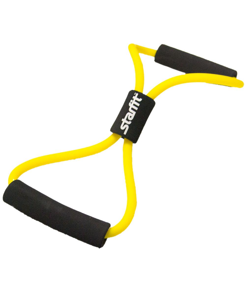 Эспандер многофункциональный Starfit ES-603, цвет: желтый, 0,7 х 1,1 х 100 смУТ-00008887Многофункциональный эспандер Star Fit ES-603 - отличная нагрузка для всех групп мышц. Стоит только подобрать необходимое упражнение, и этот эспандер будет идеальным отягощением. Изделие оснащено удобными рукоятками и выполнено из высококачественных материалов. Спортсмены и любители обязательно используют такой эспандер в своих тренировках.