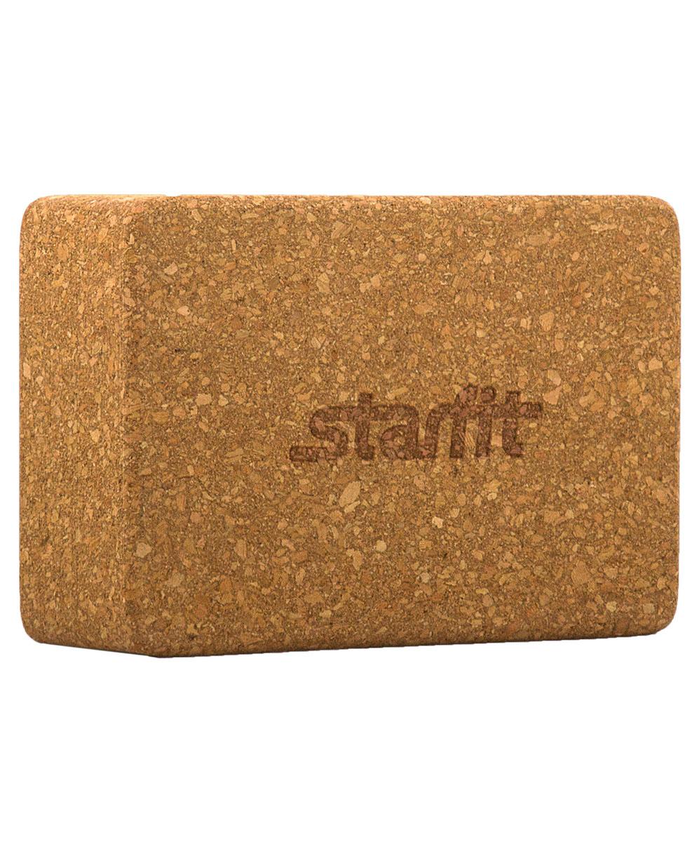 Блок для йоги Starfit FA-102, цвет: светло-коричневый, 22,5 х 15 х 7,8 смУТ-00008893Блок FA-102 - это опорный блок для занятий йогой от популярного австралийского бренда Star Fit, который используется как новичками, так и продвинутыми пользователями. Изделие обеспечивает надежную опору и фиксацию в различных позах. При выполнении позиций стоя и в сидячих скручиваниях блоки применяются в том случае, если вы не можете дотянуться руками до пола. Важной особенностью является возможность переворачивания блока различными сторонами (на торец, на узкую или на широкую сторону) в зависимости от потребностей практики. Блок помогает укрепить и разработать группы мышц. Порадуйте себя качественным и полезным тренажером. Размер блока: 22,5 х 15 х 7,8 см. Вес: 675 г.